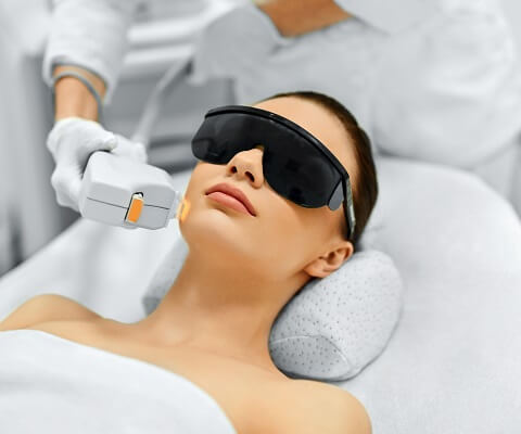IPL-Hair-Removal treatment